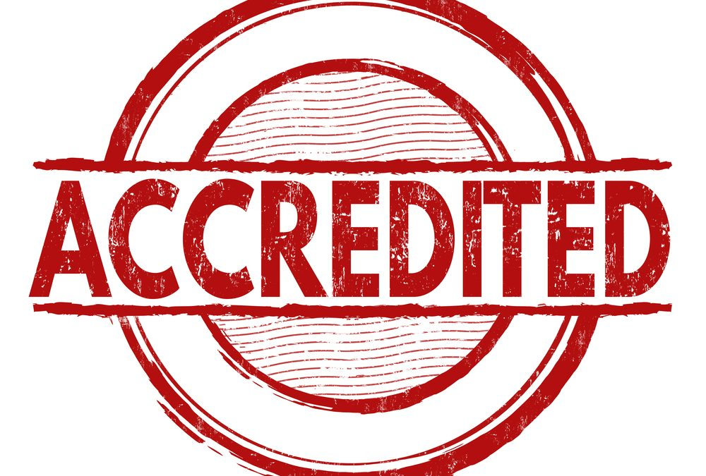 Give Credit to Your Accreditation Process